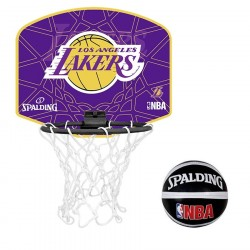 Mini Canasta Spalding NBA Los Lakers 3001588010617