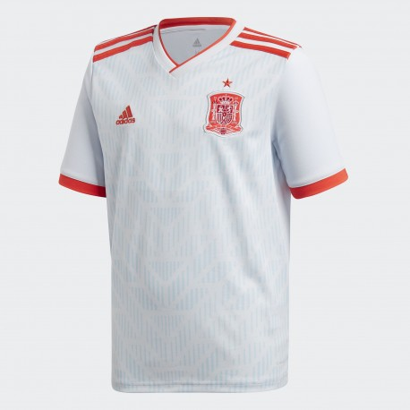 Camiseta Adidas Selección Española Junior 2018 Visitante BR2694