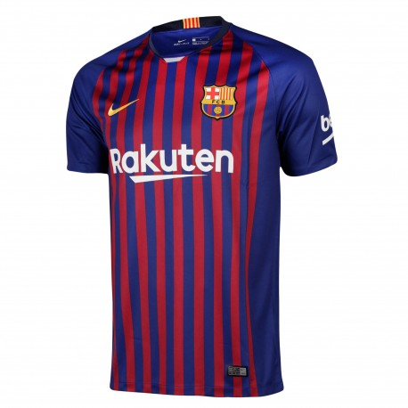 Camiseta Nike FC Barcelona 18-19 Stadium Home Junior 894458 456