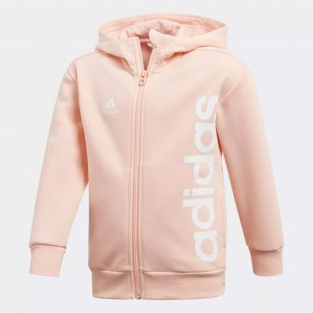 Sudadera Adidas Lk Lin Fz Hoodie DJ1533