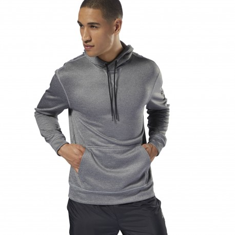 Sudadera Reebok Workout Ready Poly Fleece D94226