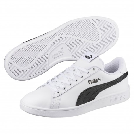 8f508faea3ad4 Zapatillas Puma Smash v2 Leather 365215 01 - Deportes Manzanedo