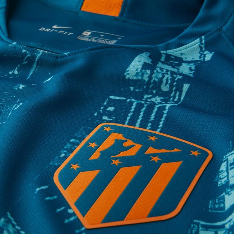 a9388ef239cdd ... Camiseta Nike Atletico de Madrid 18-19 3ª Equipación 918983 302 ...