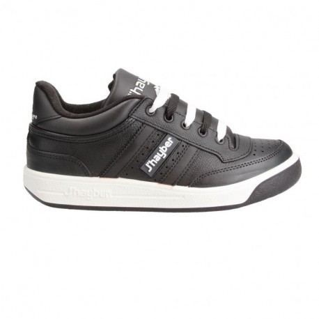 Zapatillas Jhayber New Olimpo Negra / Blanca