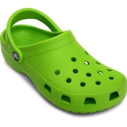 Zuecos Crocs Classics Volt Green