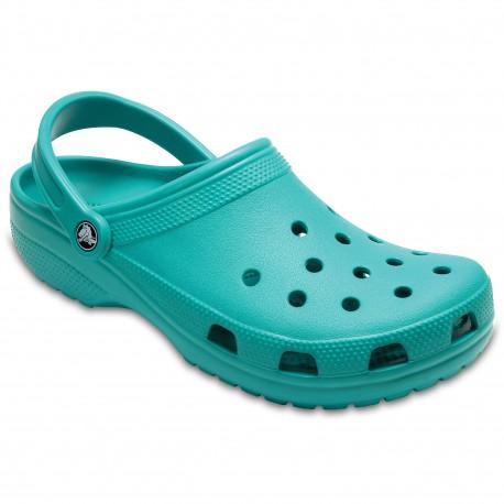Zuecos Crocs Classics Tropical Teal