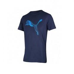 Camiseta Puma Cat Logo Tee 594876 06