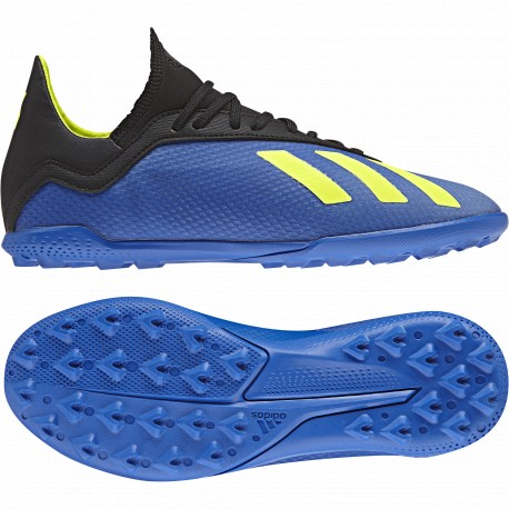 b956197bb2b22 Zapatillas Fútbol sala adidas X 18.3 Tf J DB2422 - Deportes Manzanedo