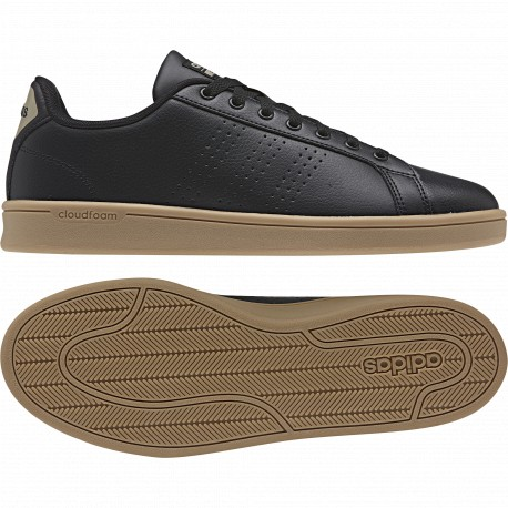 Zapatillas adidas neo Cloudfoam Advantage Clean negro