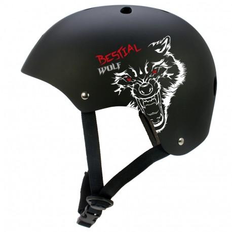 Casco Bestial Wolf Blackskull