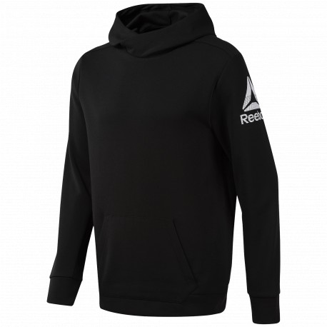 Sudadera Reebok Workout Ready Double Knit Hoodie DU2162