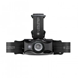 Frontal Led Lenser MH7 Negro