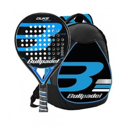 541c246cd Pack Padel Bullpadel pala + mochila Duke 19 Real