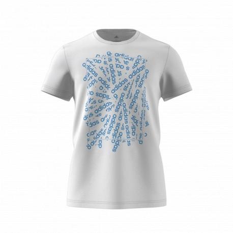 Camiseta adidas Essential Lin Scatter DV3043