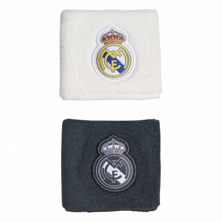 Muñequera adidas Real Madrid CY5619 (Pack 2 unidades)