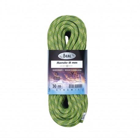 Cuerda Beal Rando 8 mm 30 metros