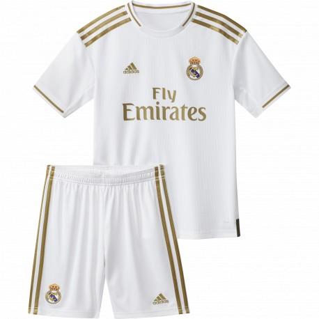 Conjunto adidas Real Madrid 19-20 1ª equipación DX8841