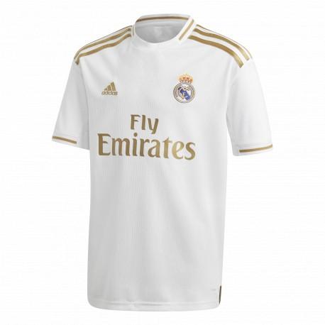 Camiseta adidas Real Madrid 19-20 1ª equipación Jr DX8838