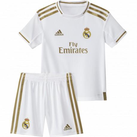 d33f0b193f27c8 Conjunto adidas Real Madrid 19-20 1ª equipación DX8843 - Deportes ...