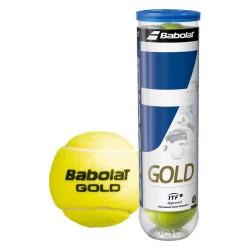 Pelotas Tenis Babolat Gold Bote 4 uds.