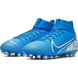 Zapatilla Fútbol Nike Jr Mercurial Superfly 7 Academy AG BQ5405 414