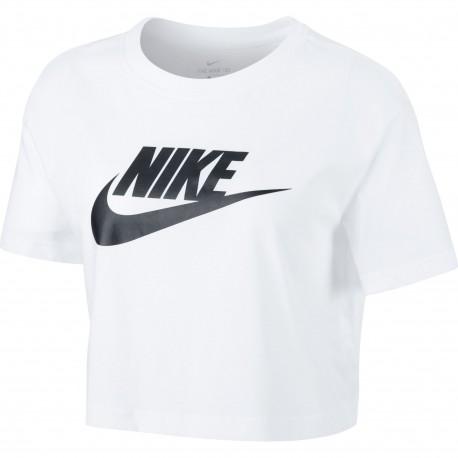 Camiseta Nike NSW Tee Essntl Crp Icn Ftr Chooped BV6175 100