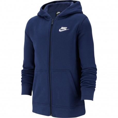 Sudadera Nike Hoodie Fz Club BV3699 410