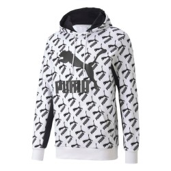 Sudadera Puma AOP Logo Hoody 596619 02