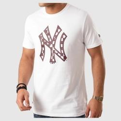 Camiseta New Era Infill Logo Tee New York Yankes 12195439