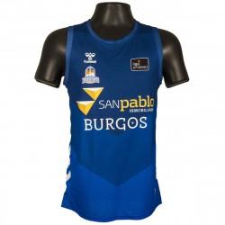 Camiseta San Pablo Burgos 1ª eqipacion Tirantes Azul
