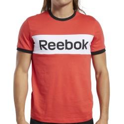 Camiseta Reebok TE LINEAR LOGO COLOR BLOCKED SS TEEFK6126