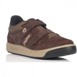 Zapatillas Jhayber Olimpia Velcro Marron 51189-6