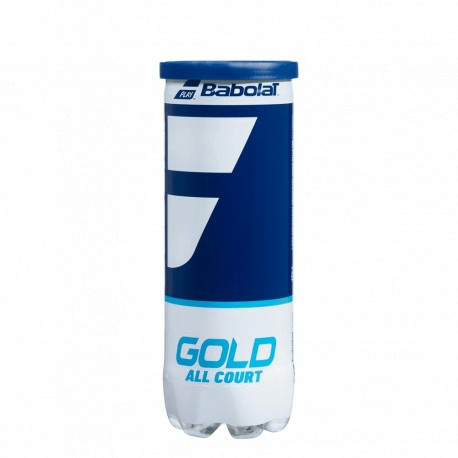 Pelota Tenis Babolat Gold Bote 3 uds.