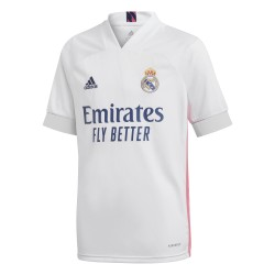 Camiseta adidas Real Madrid 20-21 1ª equipación Junior FQ7486