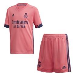 Conjunto adidas Real Madrid 20-21 FQ7489 2ª