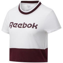 Camiseta Reebok Linear Logo Crop FU2248