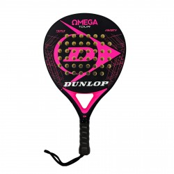 Pala Padel Dunlop Omega Rosa