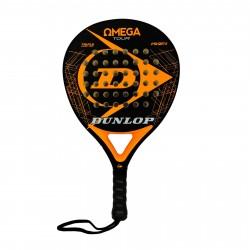 Pala Padel Dunlop Omega Tour naranja (Sin funda)