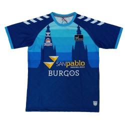 Camiseta San Pablo Burgos cubre Manga corta 2020-2021