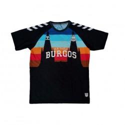 Camiseta San Pablo Burgos negra 2020-2021