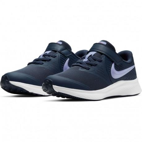 Zapatilla Nike Star Runner 2 LITTLE AT1801 406