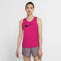 Camiseta Nike CZ9311 615 SWOOSH RUN WOMEN´S TAN