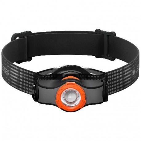 Frontal Led Lenser MH3 Negro Naranja
