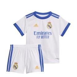 Conjunto adidas Real Madrid 21-22 1ª equipación Baby GR4016