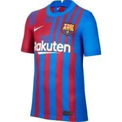 Camiseta Nike FC Barcelona Junior 1ª Equipación 21-22 CV8222 428