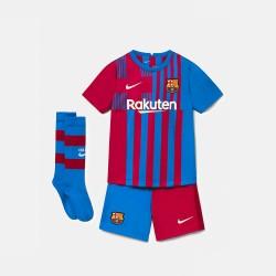 Conjunto Nike FC Barcelona Junior 1ª Equipación 21-22 CV8268 428