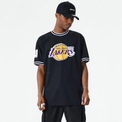 Camiseta New Era Oversized Applique Los Angeles Lakers 12485673