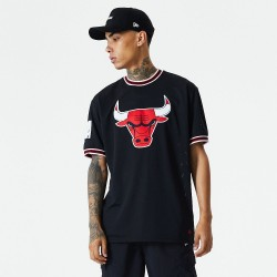Camiseta New Era Oversized Applique Chicago Bulls 12485674
