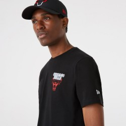 Camiseta New Era Neon Chicago Bulls 12827212