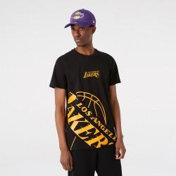 Camiseta New Era Enlarges Logo Los Angeles Lakers 12827219